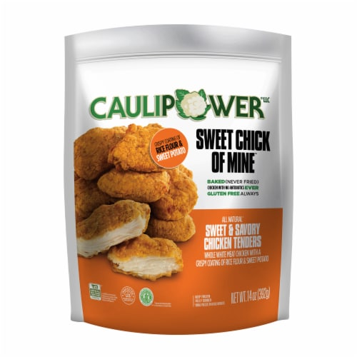 Caulipower Sweet Chick of Mine Baked Sweet & Savory Chicken Tenders Perspective: front