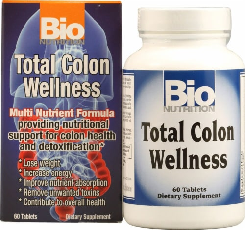 Bio Nutrition  Total Colon Wellness Perspective: front