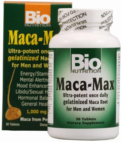 Bio Nutrition  Maca-Max Perspective: front