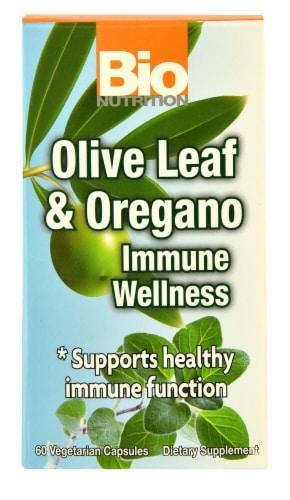 Bio Nutrition  Olive Leaf & Oregano Immune Wellness Perspective: front