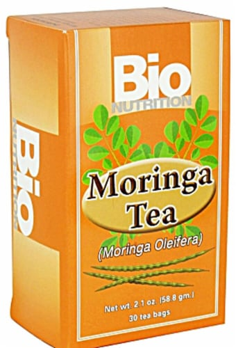 Bio Nutrition  Morninga Tea Perspective: front