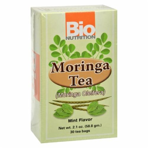 Bio Nutrition - Tea - Moringa Mint - 30 Bags Perspective: front