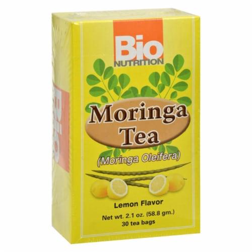 Bio Nutrition - Tea - Moringa Lemon - 30 Bags Perspective: front
