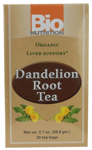 Bio Nutrition  Dandelion Root Tea Perspective: front