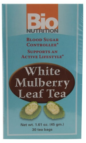 Bio Nutrition  White Mulberry Leaf Tea Perspective: front