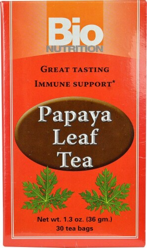 Bio Nutrition  Papaya Leaf Tea Perspective: front