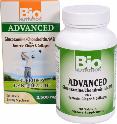 Bio Nutrition  Advanced Glucosamine-Chondroitin-MSM Perspective: front