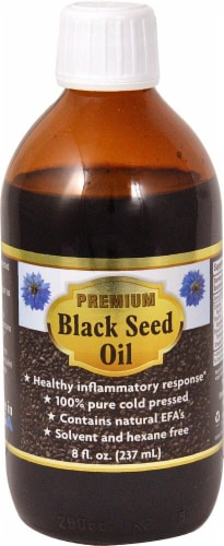Bio Nutrition  Premium Black Seed Oil Perspective: front