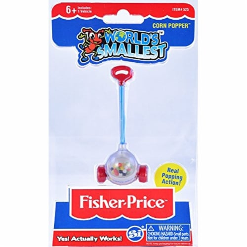 Worlds Smallest Fisher Price Corn Popper Perspective: front