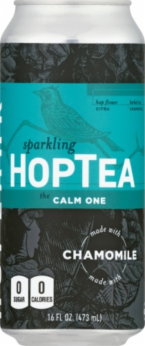 Hoplark HopTea The Calm One Chamomile Tea Perspective: front