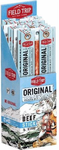 Field Trip Original Beef Sticks Perspective: front