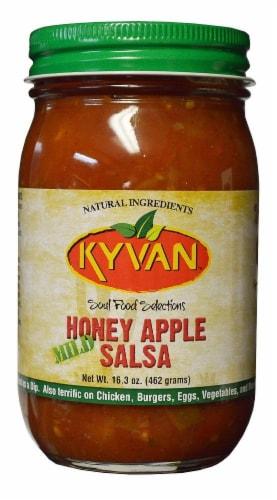 Kyvan Mild Honey Apple Salsa Perspective: front