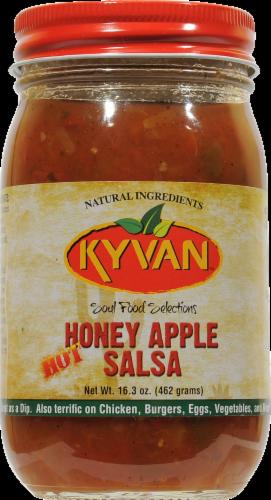 Kyvan Hot Honey Apple Salsa Perspective: front