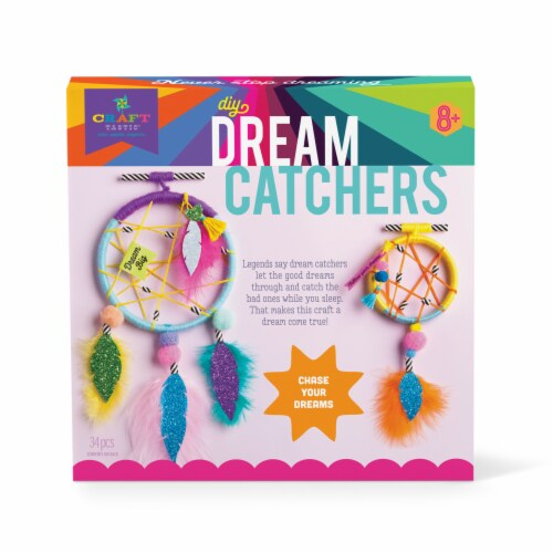 Craft-tastic DIY Dream Catchers Kit Perspective: front