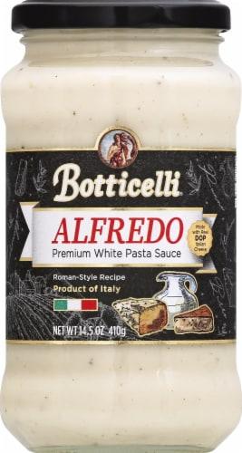 Botticelli Alfredo White Pasta Sauce Perspective: front
