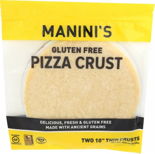 Manini's Gluten Free Pizza Crust Perspective: front
