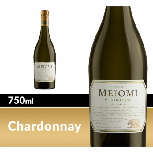 Meiomi Chardonnay White Wine Perspective: front