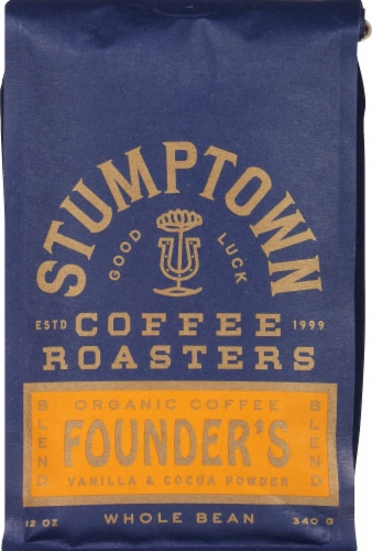 Stumptown Coffee Founder's Blend Whole Bean Coffee Perspective: front