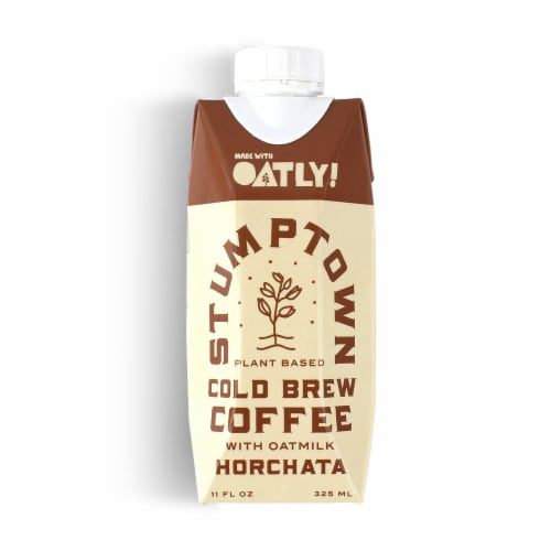 Stumptown Coffee Roasters Horchata Cold Brew with Oatmilk Perspective: front