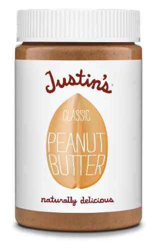 Justin's Classic Peanut Butter Perspective: front