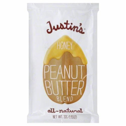 Justin's Honey Peanut Butter Blend Squeeze Pack Perspective: front