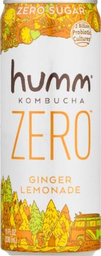 Humm Kombucha Zero Ginger Lemonade Perspective: front