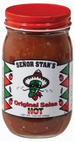 Senor Stan's Original Hot Salsa Perspective: front