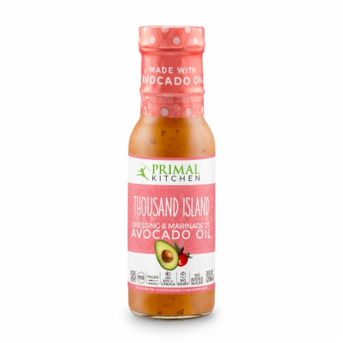 Primal Kitchen Thousand Island Dressing and Marinade Perspective: front