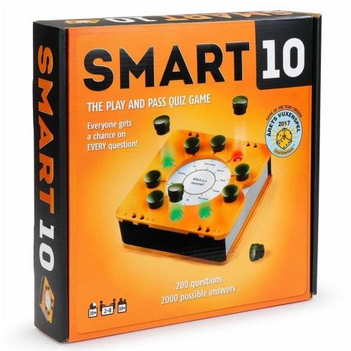 Bananagrams BNASMT001 Smart 10 Big Travia Fun Board Game Perspective: front