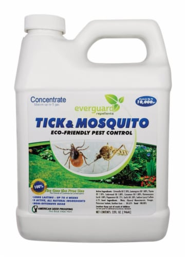 YF 1500018 32 oz Everguard Repellent Tick & Mosquito Concentrate Perspective: front