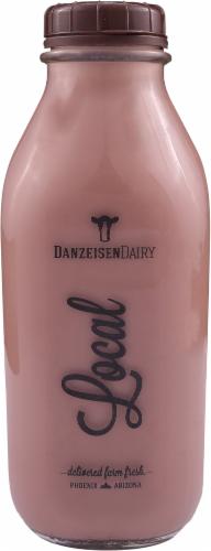 Danzeisen Dairy Reduced Fat Chocolate Milk Perspective: front