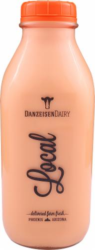 Danzeisen Dairy Local Reduced Fat 2% Orange Milk Perspective: front