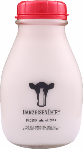 Danzeisen Dairy Local Vitamin D Whole Milk Perspective: front