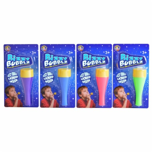 Uncle Bubble HD 121-LTB Bizzy Bubblz Case - Pack of 4 Perspective: front