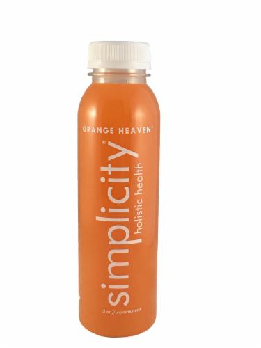 Simplicity Orange Heaven Juice Blend Perspective: front
