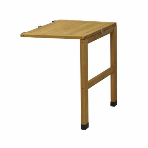 VegTrug Side Table Natural FSC 100% Perspective: front