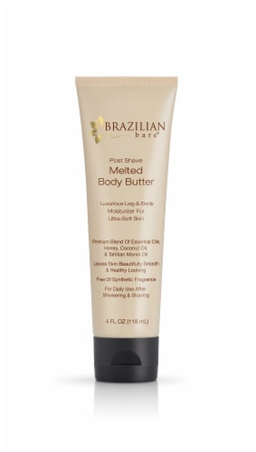 Brazilian Bare Post Shave Melted Body Butter Perspective: front