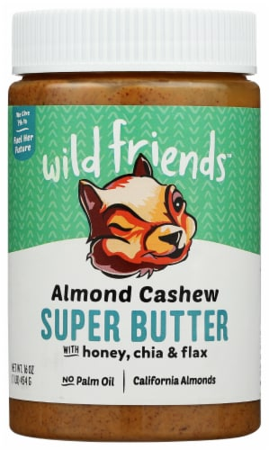 Wild Friends Almond Cashew Super Butter Perspective: front