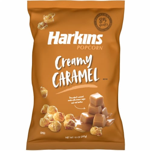 Harkins Creamy Caramel Popcorn Perspective: front