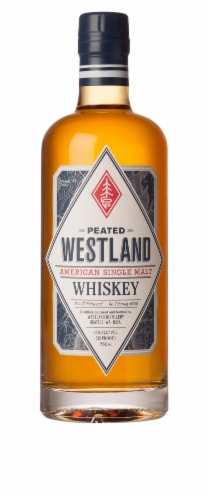 Westland Peated Single Malt Whiskey Perspective: front