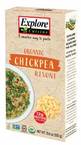 Explore Cuisine Organic Chickpea Risoni Perspective: front