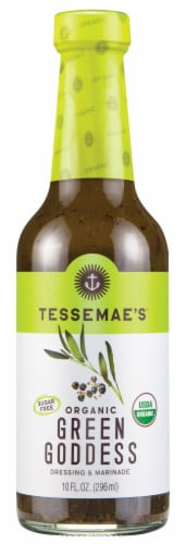 Tessemae's All Natural Green Goddess Dressing & Marinade Perspective: front