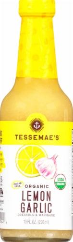 Tessemae's All Natural Lemon Garlic Dressing & Marinade Perspective: front