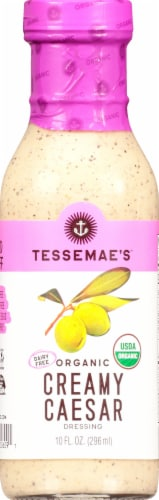 Tessemae's Organic Creamy Caesar Dressing Perspective: front