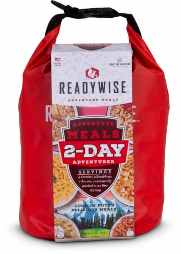 ReadyWise 2-Day Adventure Meals Perspective: front