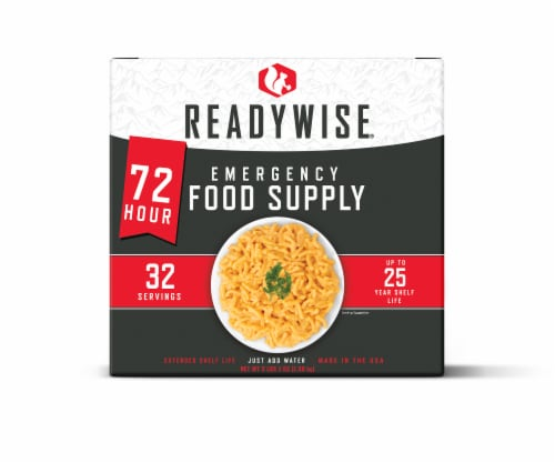ReadyWise 72-Hour Emergency Food Supply Perspective: front