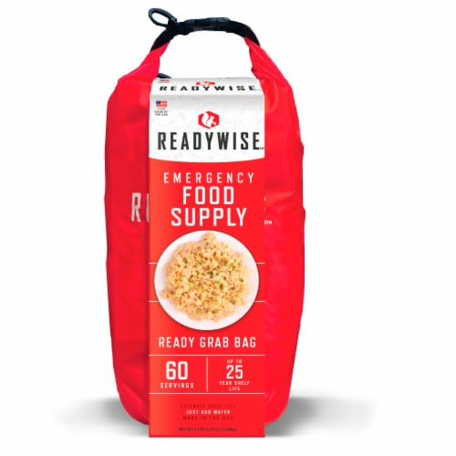 ReadyWise 60 Serving Grab Bag Perspective: front