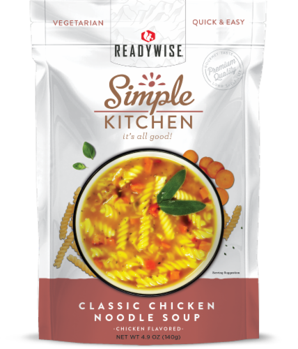Simple Kitchen Classic Chicken Noodle Soup Perspective: front