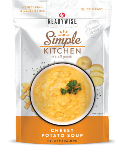 Simple Kitchen Cheesy Potato Soup Perspective: front