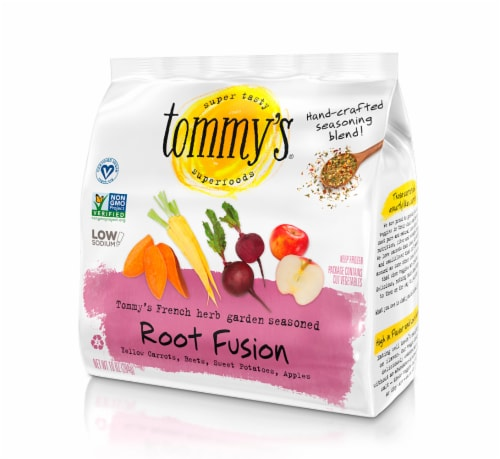 Tommy's Superfoods Seasoned Root Fusion Perspective: front